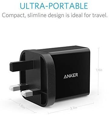 Anker (2-Port USB- 24W Charger)