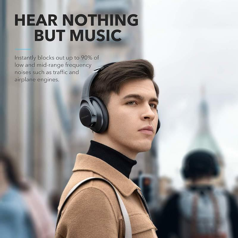 Anker Soundcore Life Q20 Active Noise Cancelation -Black