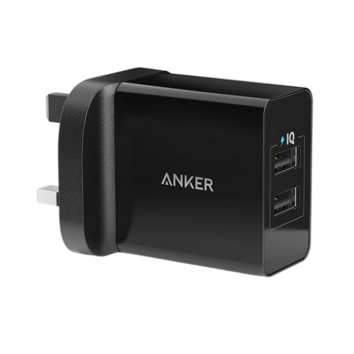 Anker --24W 2-Port USB Charger