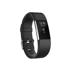 Fitbit Charge2 Heart Rate and Fitness Wristband Black