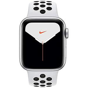 Apple Watch Nike Series 5 GPS and Cellular 40mm   Aluminium Case with Pure Platinum   Nike Sport Band S/M & M/L