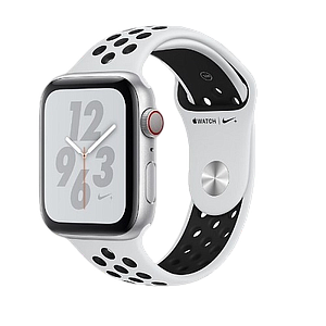 Apple Watch Series4 GPS and Cellular 40MM   Aluminum Case Pure Platinum   Nike Sport Band
