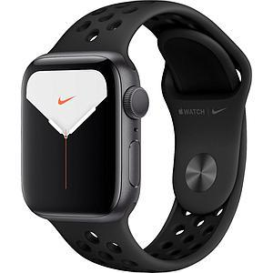 Apple Watch Nike Series 5 GPS, 44mm Space Grey Aluminium Case with Anthracite/Black Nike Sport Band - S/M & M/L