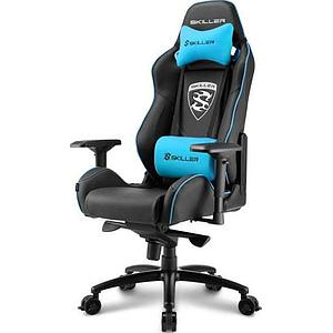 Sharkoon Gaming Seat Skiller SGS3 Synthetic Leather Class-4 Gaslift 4D Armrest 75mm Black/Blue