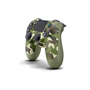 Ps4 Dualshock Wireless Controller Green Camouflage