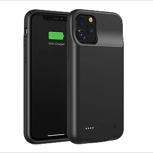 Battery Case For Ip11 Pro Max 4500Mah-Bk
