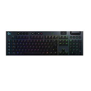Logitech G915 Lightspeed Wireless Rgb Mechanical Gaming Keyboard Tactile