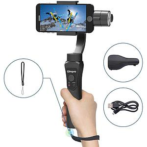 GimPro X 3-Axis Stabilized Handheld Gimbal for Smart Phone Black