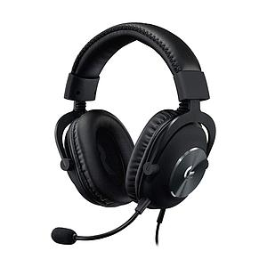 Logitech Pro X Gaming Headset With Blue Voice