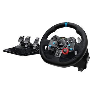 Logitech G29 Driving Force Racing Wheel For Ps4, Ps3 , Ps5 And Pc