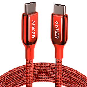 Anker PowerLine + III USB-C to USB-C (0.9m) -Red