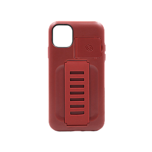 Grip2ŸU BOOST Case with Kickstand for iPhone 11 (Maroon)