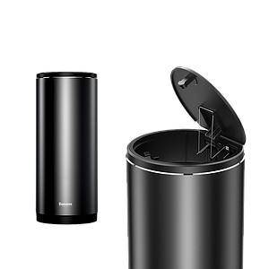 Baseus Gentleman Style Vehicle Mounted Trash Can Black