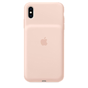 Apple Smart Battery Case For iPhone XS Max Pink Sand