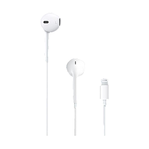 Apple EarPods With Lightning Connector For iPhone 7 White