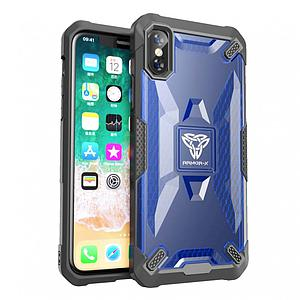 ARMOR X MLN Case For iPhone XS Military Grade 2M Blue