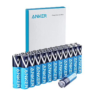 Anker- Alkaline AA Batteries -(48-Pack)