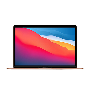 Apple 13-inch MacBook Air: 1.1GHz quad-core 10th-generation Intel Core i5 processor, 512GB - Gold( Comes with English and Arabic Keyboard )
