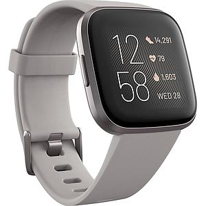 Fitbit Versa 2 (NFC) Fitness Wristband with Heart Rate Tracker Mist Gray