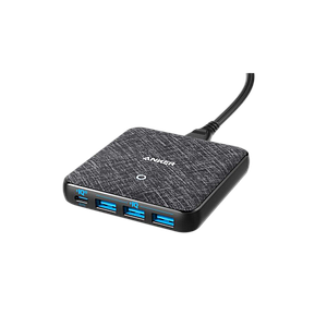 Anker PowerPort PD+ 4 -Black Fabric 65W  (45W PIQ3)