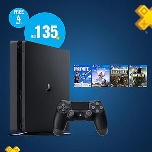 PS4 1TB Combo Comes With 4 Games