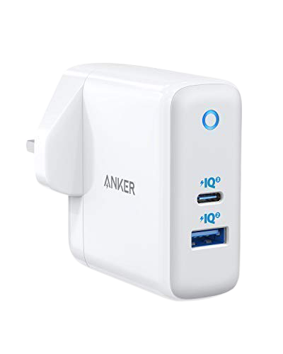 Anker PwerPort Atom III (Two Ports) with iQ 3.0 -White