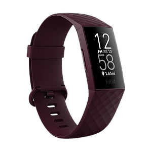 Fitbit Charge 4 Heart Rate + Fitness Wristband (NFC)-Red