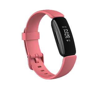 Fitbit Inspire 2 Fitness Wristband with Heart Rate Tracker - Desert Rose/Black